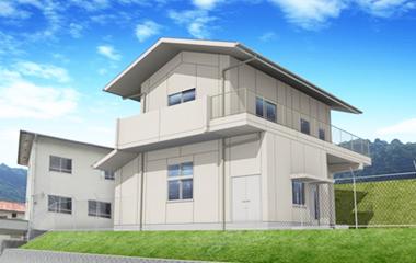 浄水場管理棟実施設計(広島県)